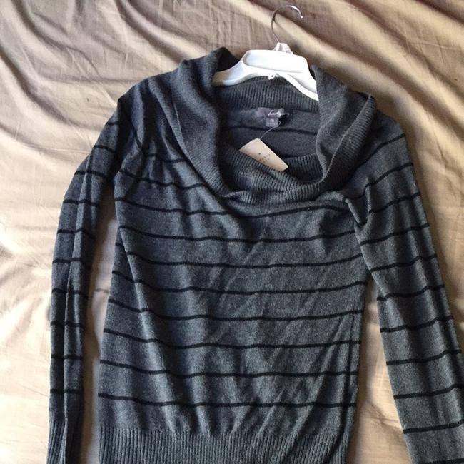 Forever 21 Sweetheart Cowl Neck Cowlneck Stripe Stripes Long Sleeve Longsleeve Longsleeves Fall Light Nice Cool Cute Sweater