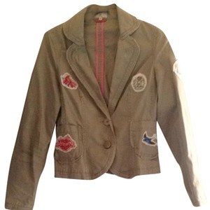 Essentials Boutique Light Taupe Blazer