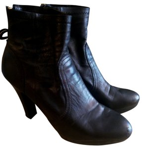 Tory Burch Size 11 Super Soft Leather Black Boots