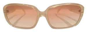 Versace Versace Pearl and Gold Sunglasses