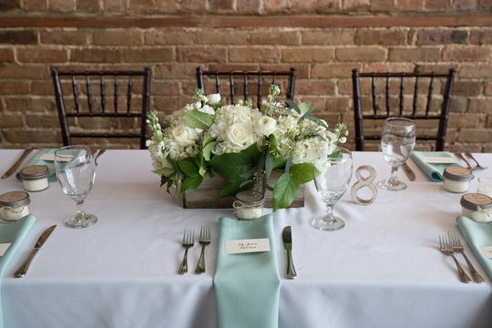 BHLDN Silver Mercury Glass Table Numbers Other Image 1