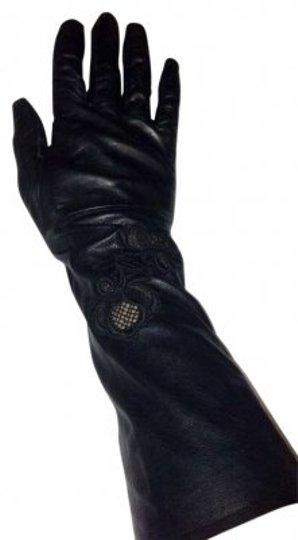Preload https://item2.tradesy.com/images/black-long-leather-gloves-142786-0-0.jpg?width=440&height=440