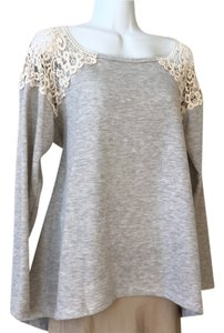 Other Antique Lace Sweatshirt Medium Sweater