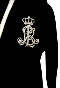 Ralph Lauren Jacket Lauren Sweater Lauren Crest Fitted Fitted Jacket Cardigan