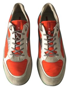 Prada Multi orange gray green sliver Athletic