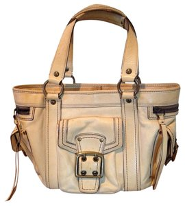 Coach Hobo Pockets Tote in Cream