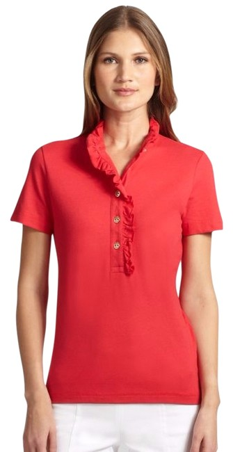 Preload https://img-static.tradesy.com/item/1428029/tory-burch-new-carnival-lidia-polo-shirt-xs-button-down-top-size-2-xs-0-2-650-650.jpg