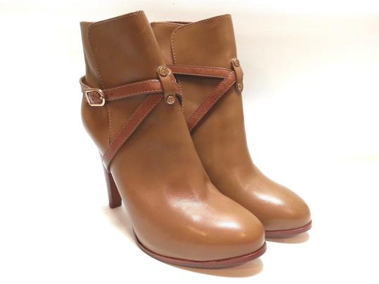 Tory Burch Leather Ankle Camel Boots Image 3