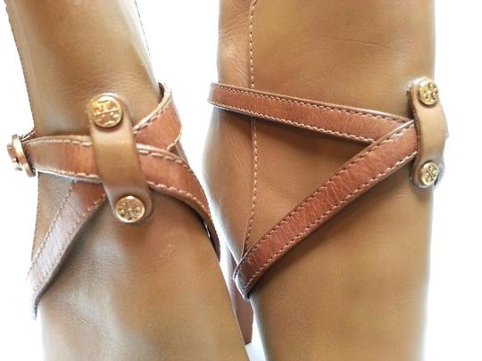 Tory Burch Leather Ankle Camel Boots Image 5