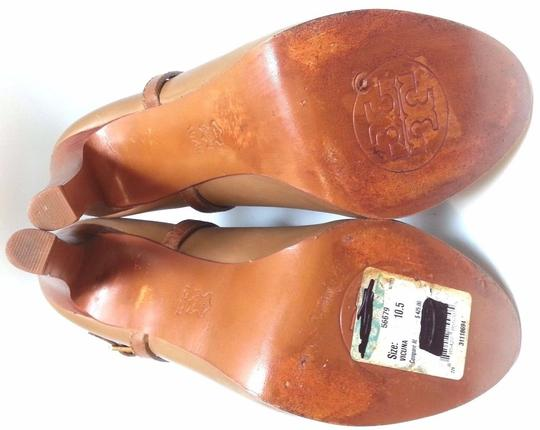 Tory Burch Leather Ankle Camel Boots Image 7