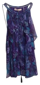 Rebecca Taylor Top Blues and purple