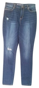 Victoria's Secret Straight Leg Jeans-Distressed