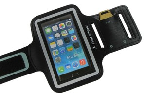 Finish It! Gear iPhone 5 Armband for Running, Solid iPod Holder, iPod Holder for Running, Double Thickness Neoprene