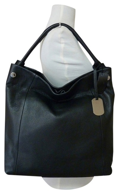 Furla Ns Nerin Black Pebbled Leather Tote Furla Ns Nerin Black Pebbled Leather Tote Image 1