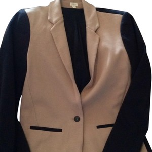 J.Crew Black and blush Blazer