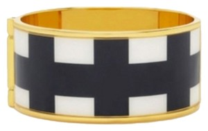 Kate Spade Kate Spade Paper Check Hinge Bracelet Bangle