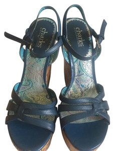 Charles by Charles David blue Wedges