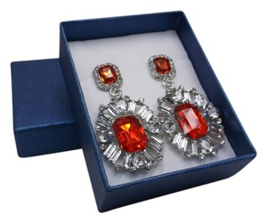 Other Red Royalty Fashion Earrings with Gift Box Free Shipping