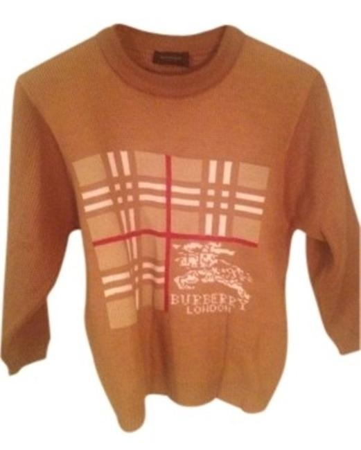 Preload https://item1.tradesy.com/images/burberry-camel-classic-london-sweaterpullover-size-4-s-142820-0-0.jpg?width=400&height=650