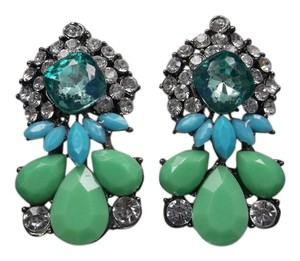 Other Trendy Teal Fashion Earrings w Gift Box & Free Shipping