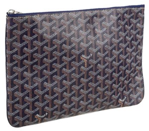 Goyard Irreplaceable Rare Traditional Black Clutch