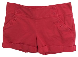 Juicy Couture Cuffed Shorts Dark pink