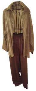Zoran Wide Leg Pants Brown