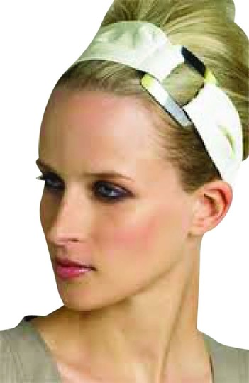 Cära Couture Jewelry Cara NY patent leather headband