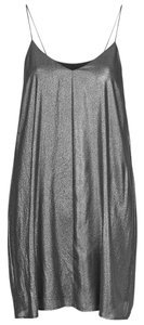 Topshop Pleated Slip Dress