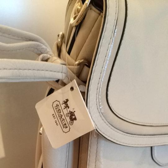 Coach Satchel in Ivory