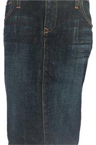 Blue Cult Skirt Dark wash denim