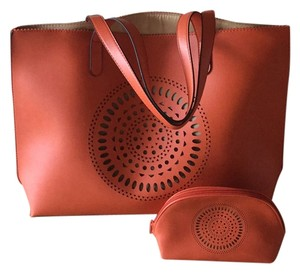 Neiman Marcus Tote in Orange