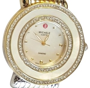 Michele Cloette Diamond Mother of Pearl Watch