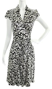 INC International Concepts Floral Silk Shortsleeves Dress