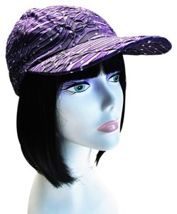 Purple Baseball Cap by Something Special [ Roxanne Anjou Closet ]