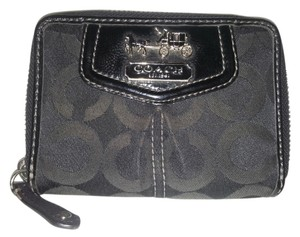Coach Coach Madison Op Art Zip Bifold Wallet