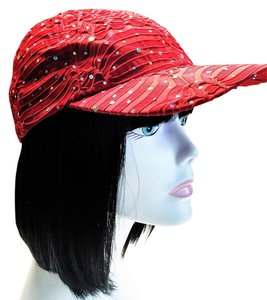 Red Baseball Cap by Something Special [ Roxanne Anjou Closet ]