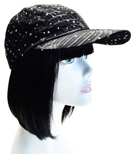 Black Baseball Cap by Something Special [ Roxanne Anjou Closet ]
