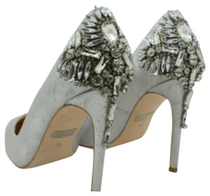 Badgley Mischka Gray Formal