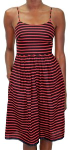 J.Crew Strappy Sleeveless Striped Dress