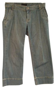 Banana Republic Capris Stretch Capri/Cropped Denim-Light Wash