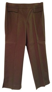 Ann Taylor LOFT Capri/Cropped Pants Dark Brown