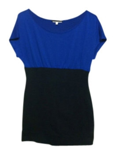 Charlotte Russe short dress Blue/Black on Tradesy