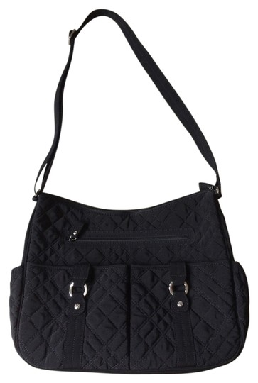 Vera Bradley Quilted Black Diaper Bag On Sale 33 Off