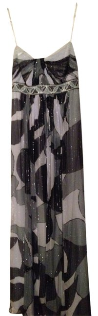 Item - Blue/Gray Tones Maxi Long Formal Dress Size 2 (XS)