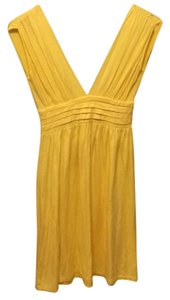 Wish short dress Yellow on Tradesy