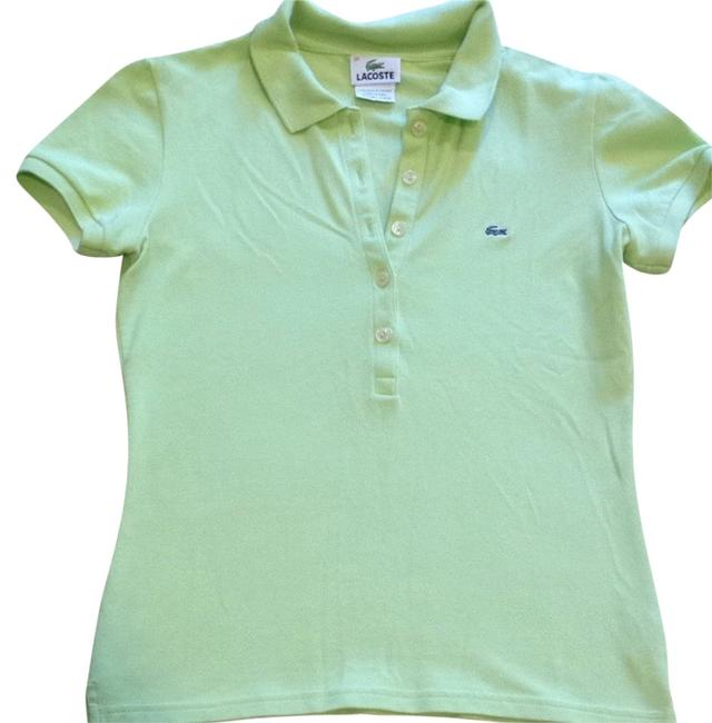 Lacoste T Shirt Lime/light Green