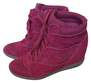 Skechers Burgundy / red Wedges