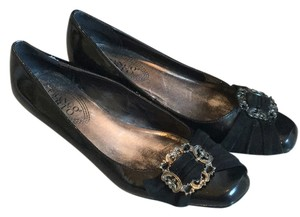 Franco Sarto Flats 7 Heels Black Pumps
