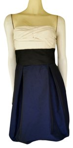 BCBGMAXAZRIA Balloon Skirt Taffeta Dress